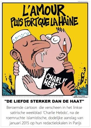 charlie Hebdo amour